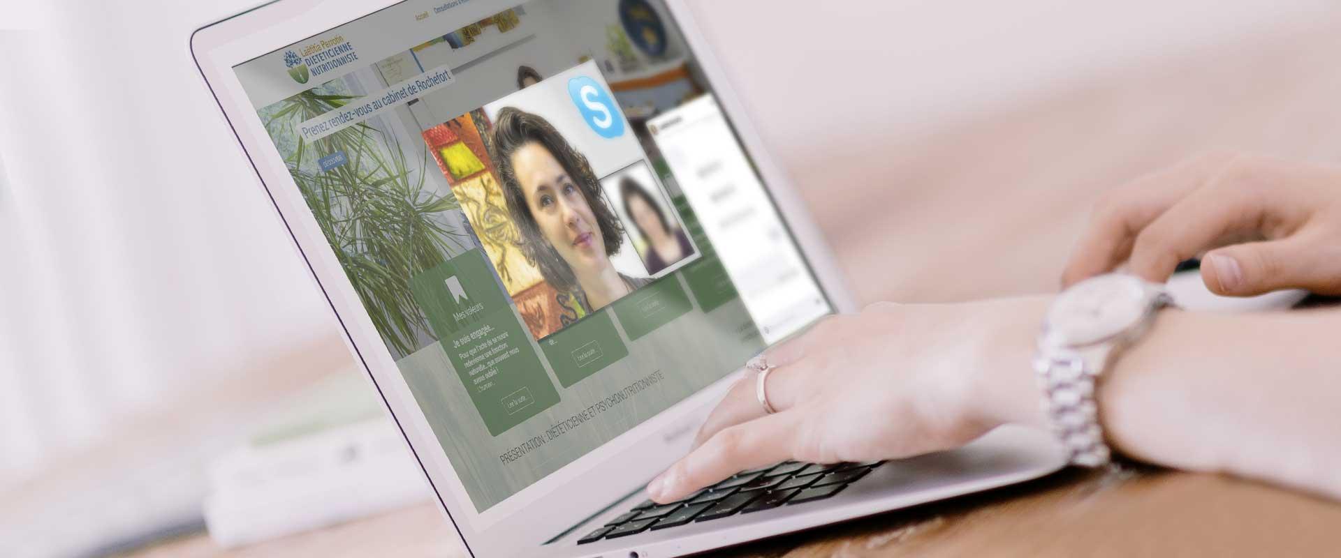 Consultation depuis chez vous avec Skype !