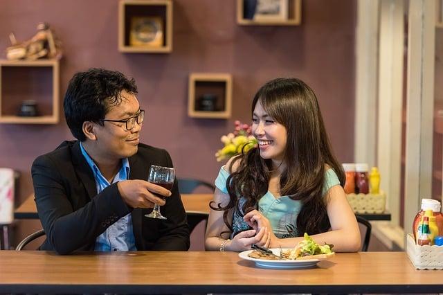 Couple repas décalés