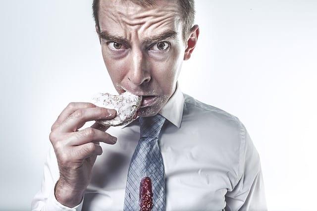 Manger a cause du stress